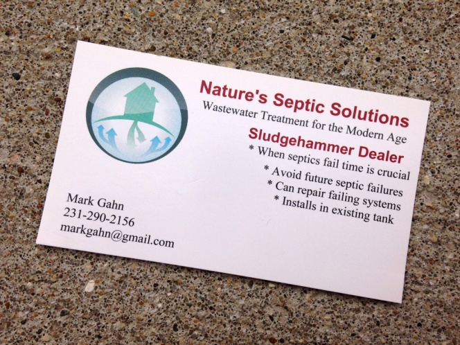 Contact Mark Gahn for a Site Plan Review of your Septic System and Drain Field